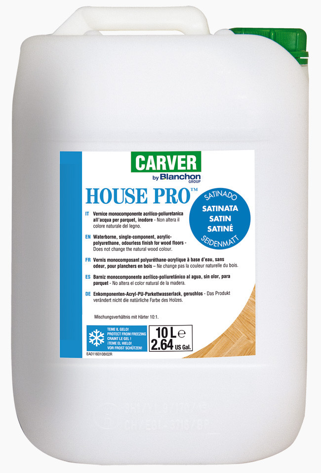 Water-based one-component finish HOUSE PRO